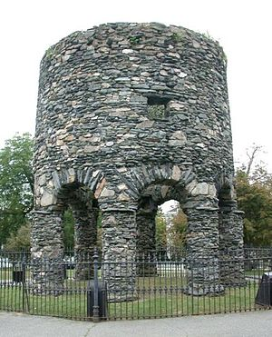 The Newport Tower today.