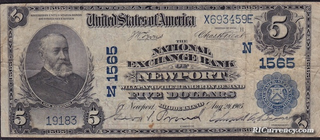 National Exchange Bank $5