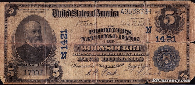 Producers National Bank $5
