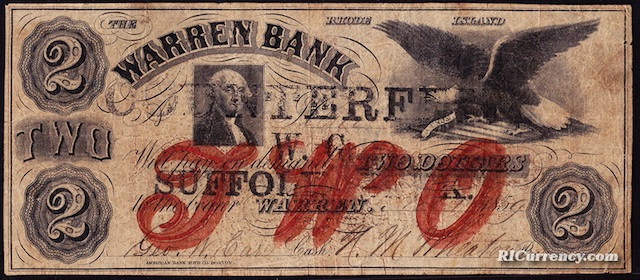 Warren Bank $2