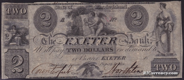 Exeter Bank $2