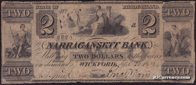 Narragansett Bank $2