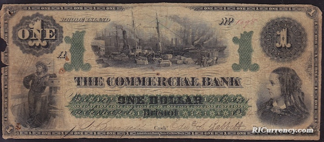 Commercial Bank $1