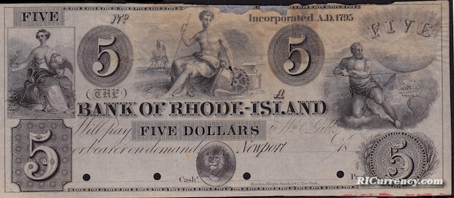 Bank of Rhode Island $5