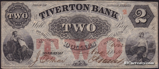 Tiverton Bank $2