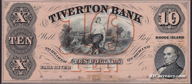 Tiverton Bank $10