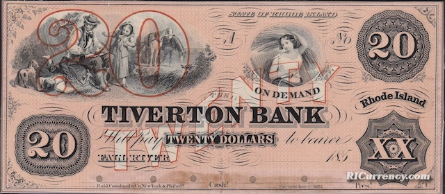 Tiverton Bank $20