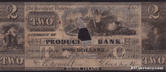 Producers Bank $2
