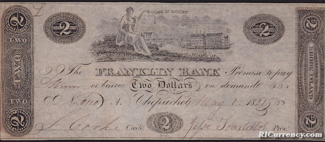 Franklin Bank $2