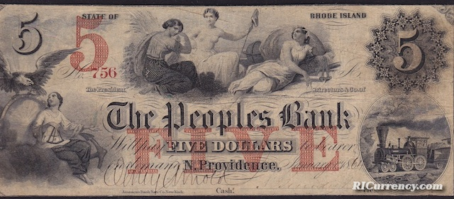 Peoples Bank $5