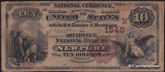 Aquidneck National Bank $10