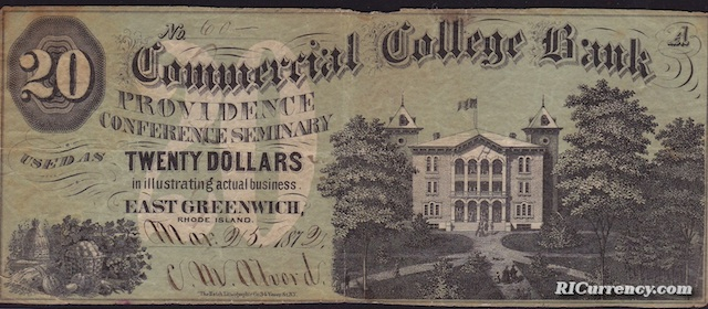 Commercial College Bank $20