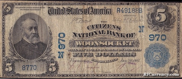 Citizens National Bank $5
