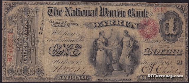 National Warren Bank $1