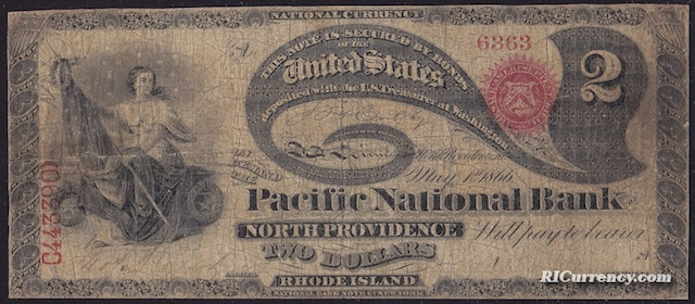 Pacific National Bank $2