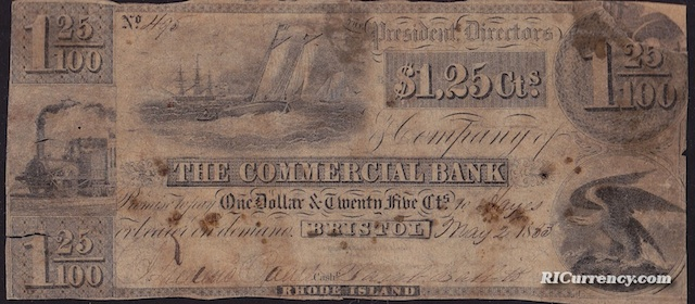 Commercial Bank $1.25