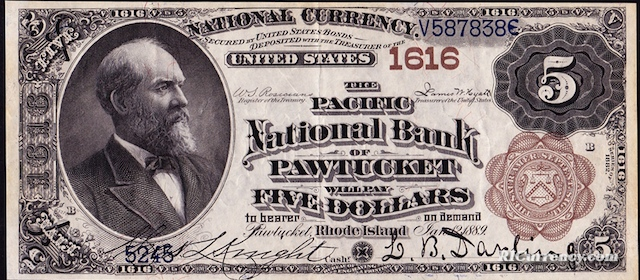 Pacific National Bank $5