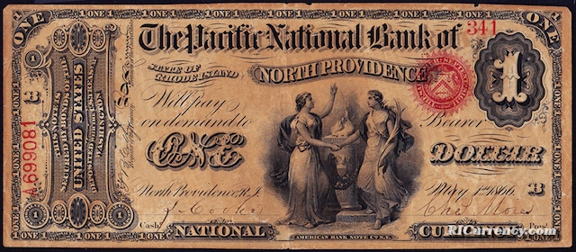 Pacific National Bank $1