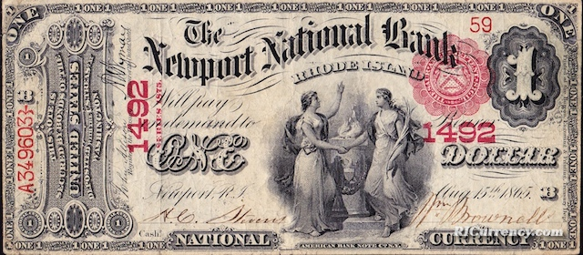 Newport National Bank $1