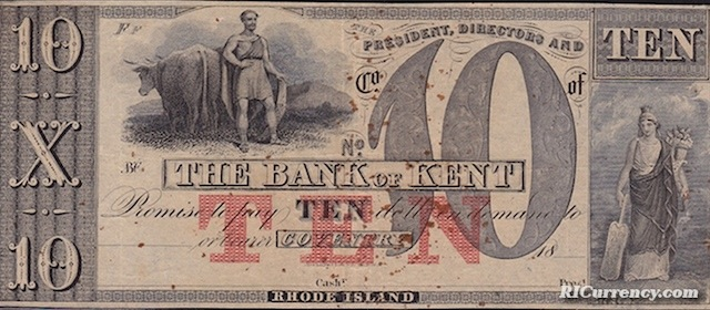 Bank of Kent $10