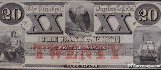 Bank of Kent $20