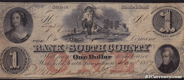 Bank of South County $1