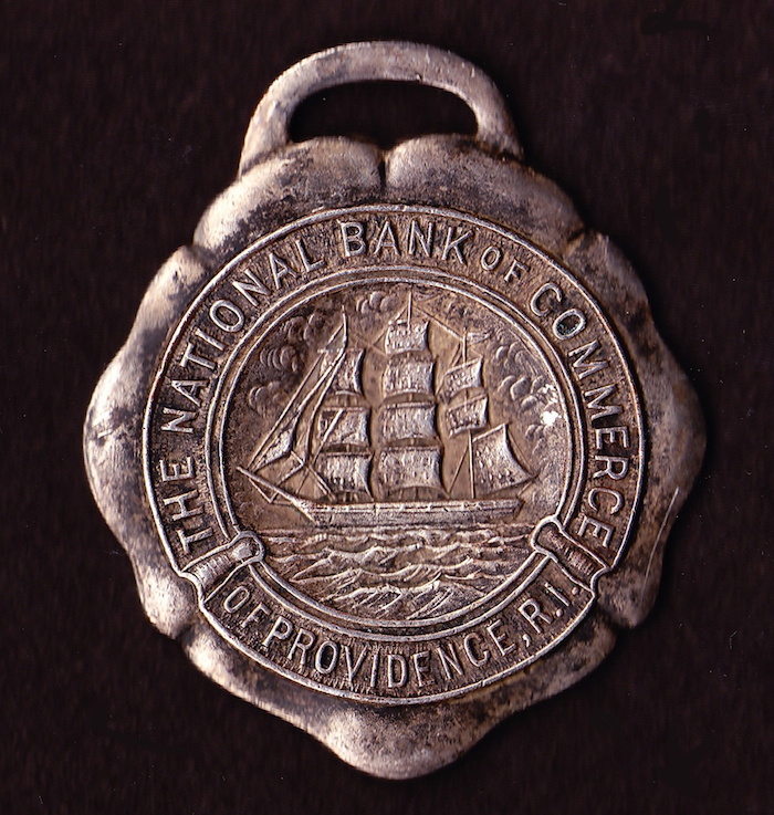 Bank of Commerce key fob.