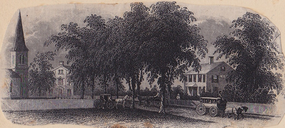 Elmwood Green engraving