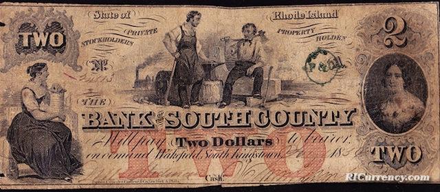 Bank of South County $2