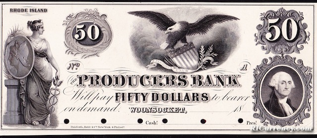 Producers Bank $50