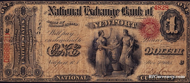 National Exchange Bank $1