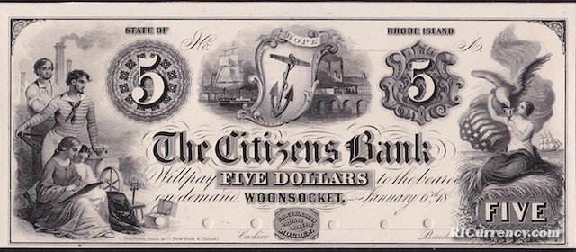 Citizens Bank $5