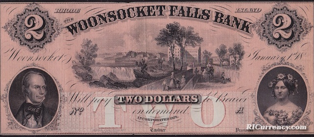 Woonsocket Falls Bank $2