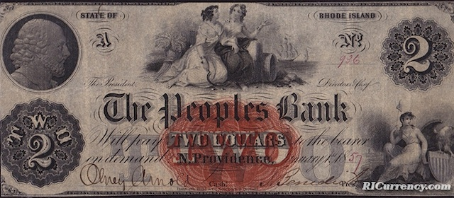 Peoples Bank $2