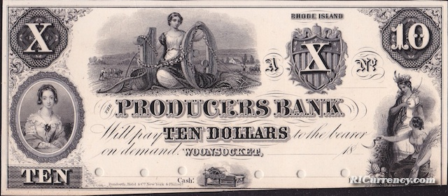 Producers Bank $10