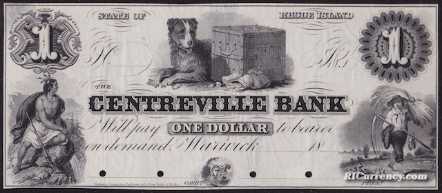 Centreville Bank $1