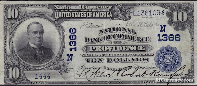 National Bank of Commerce $10