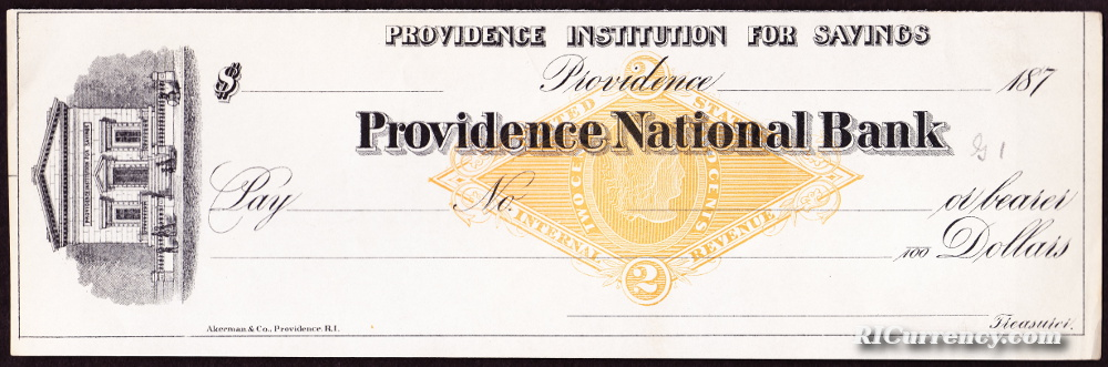 Providence Bank Institution of Savings