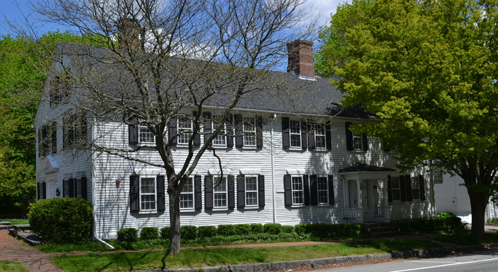 2587 Kingston Road, Kingston, South Kingstown. The John T. Nichols House/Landholder's Bank today,now home to the South County Art Association.