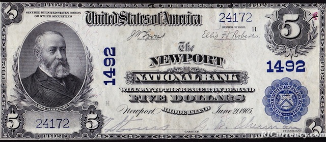 Newport National Bank $5
