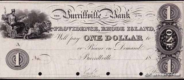 Burrillville Bank $1