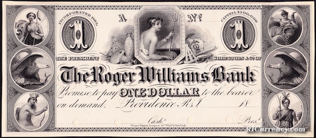 Roger Williams Bank $1