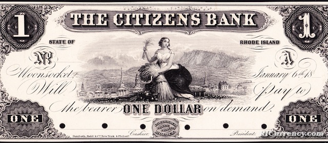 Citizens Bank $1