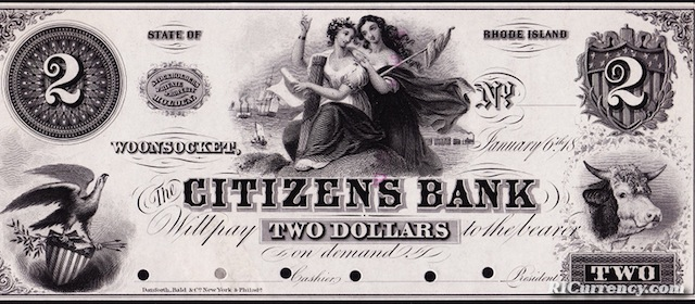 Citizens Bank $2