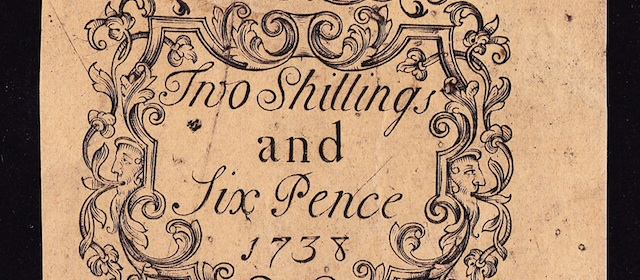 2 Shillings & Six Pence