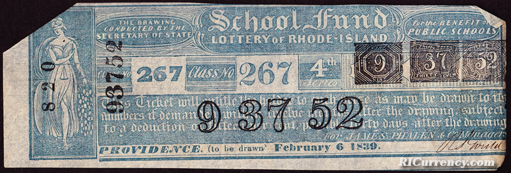 School Fund Lottery Ticket
