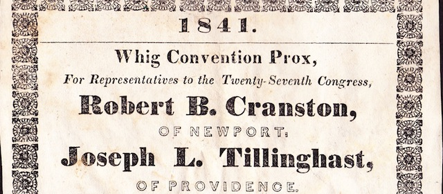 Whig Party Convention Prox