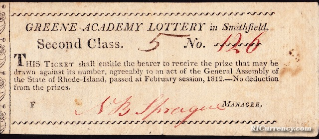 Greene Academy Lottery Ticket