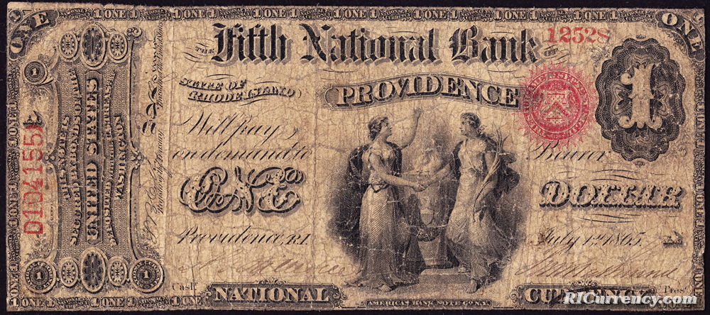 Fifth National Bank banknote