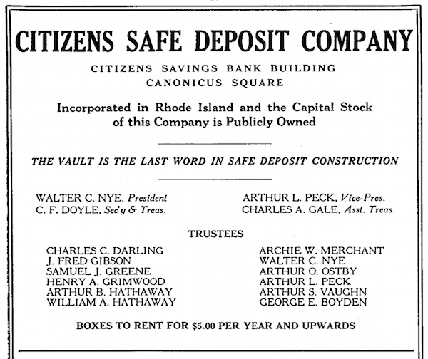 citizens safe deposit